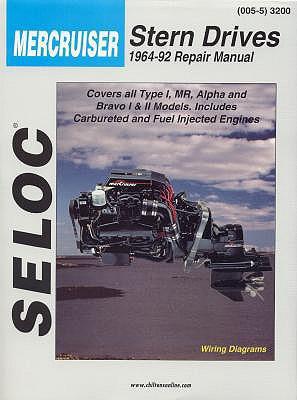 Seloc Mercruiser Stern Drives 1964-91 Repair Manual By Chilton Book Company